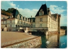 E. K. B. 700 - Château De VILLANDRY - Façade Principale - Cygnes - Circulée 1965 - Scan Recto-verso - Frankrijk