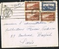 MAROC Lettre    1938     Yv 131 X 3, 147  Pour Paris - Marokko (1891-1956)