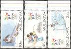 Moldova  1998  MNH**  -  Yv. 223/225 - Invierno 1998: Nagano
