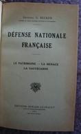 Défense Nationale Française Et Deux Autres Volumes - Livres