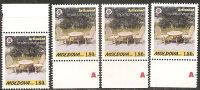 Moldova  1999  MNH**  -  Yv. 259/60+278/281 - Moldavia