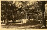 Thouars Le Jardin Public 46 Cliche Barathon 1937 Kiosque - Thouars