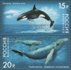 Russia 2012 Whales Stamps MNH - Unused Stamps