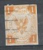 LÜBECK 1862, Yvert N° 7 , 1 Shilling Jaune; Obl ; B; Cote 2250 Euros - Luebeck