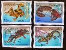 SOMALIA: Grenouilles. Serie De 4 Valeurs Emise En 1996. Neufs Sans Charniere. MNH - Grenouilles