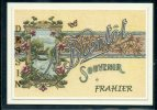 90  FRAHIER .  ..  Souvenir Au Fusain Creation Moderne Série Limitée Et Numerotée 1 à 10 ... N°  2/10 - France