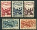 Maroc (1947) PA N 60 à 64 ** (Luxe) - Maroc (1891-1956)