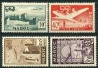 Maroc (1952) PA N 85 à 88 ** (Luxe) - Maroc (1891-1956)