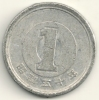Japan  1 Yen Hirohito  Y#74   Yr. 50 (1975) - Giappone