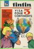 BD - TINTIN HEBDOMADAIRE - No 14, 20e ANNÉE, 1965 - 52 PAGES - VISA POUR 3 CONTINENTS - FRANVAL - RIK VAN STEENBERGEN - - Tintin