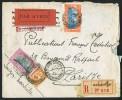 1931  Lettre Avion Recommandée De Saigon Pour Paris  Yv 127, 140, 143 - Indochina (1889-1945)