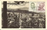 TRUTNOV - Tratenau - Kraj - Hradec - Letadlem - Par Avion 1954 - Tsjechië