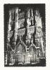 Cp, 80, Amiens, La Cathédrale Vue La Nuit - Amiens