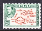Fiji 134   Perf 13 1/2   *  MAP - Fiji (...-1970)