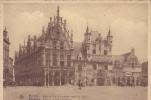 MALINES HOTEL DE VILLE ET ANCIENNES HALLES AU DRAP - Malines