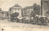 Corrèze- Tulle -La Place Du Marché. - Tulle