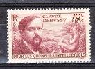 FRANCE / 1939 / Y&T N° 437 ** : Debussy 70c + 10c - Gomme D´origine Intacte - France