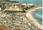 En Avion Au Dessus De Sète ----- Plage De La Corniche Avec Ses Campings - Sete (Cette)
