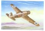 Fiat G50 Bis  -   Postcard From An Original Painting By John Batchelor - 1939-1945: 2ème Guerre