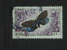 Libanon Liban 1965 Vlinder Papillon Buterfly Yv LP PA 339 O - Papillons