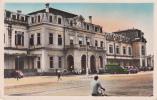 NORD VIETNAM HANOI - Gare 1954  (animée Automobiles Camions - TBE) - Vietnam