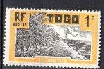 TOGO - 1924: Le Cocotier (N° 124*) - Togo (1914-1960)