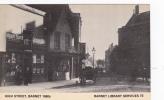 BARNET - HIGH STREET. 1880's.  LIBRARY REPRINT - London Suburbs