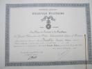 Diplôme/ Médaille Militaire/Grand Chancelier De L´ONLH/DESVILLES/Isle/Hau Te Vienne/1934      DIP3 - Diploma & School Reports