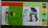 YT 3483 +3484 ** (paire) - FRANCE - 2002 - Champions Du Monde De Football 1998 - Francia