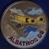 """CUBA 1 PESOS 1994 """"ALBATROS"""" COLORATA NICHEL UNC/FDC #1160 - Cuba"""