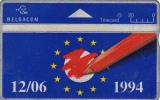 BELGIUM - Elections Europeennes, CN : 404H, Used - Belgium