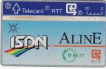 BELGIUM - ISDN Aline, CN : 107A, Used - Belgium