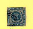 2.S  Armoirie,      3 Ø  Cote 90 €, - 1851-63 (Frederik VII)