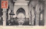 Dép. 02 - VILLERS-COTTERETS. - Intérieur De L'Eglise. Voyagée 1916. Ed. Risse, Villers-Cotterêts. N° 10 - Villers Cotterets