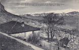 Le Mont Blanc Et Le Massif De Sept-Laux, Vue Prise Du Cafe De La Bastille, Grenoble (Isere), France, 1900-1910s - Grenoble