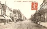 Calais Boulevard Lafayette Café Americain Grand Bazard La Fayette Voies De Tram!! - Calais