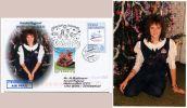 Sonderflugpost Weihnachten 2002 WIEN - VATIKAN Zuleitung Ab Tschechische Republik (#1 - AUA-Erstflüge