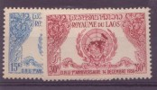 Laos N° 22-23  ** PAR AVION  Neuf Sans Charniere - Laos