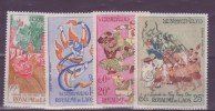 Laos N° 39 à 42 ** PAR AVION  Neuf Sans Charniere - Laos