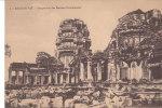 Cambodge-Angkor  Vat-perspective Des Entrées Occidentales - Cambodge
