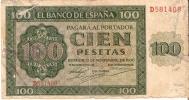 BILLETE DE ESPAÑA DE 100 PTAS 20/05/1936 SERIE D EN CALIDAD RC (BANK NOTE) - [ 3] 1936-1975 : Régimen De Franco