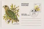 Ciskei, Pre-franked Stationery Postcard Showing Birds - Ciskei