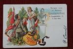 5600 WUPPERTAL - LANGERFELD, XV. Märkisches Gauturnfest, 1902, Leichter Mittelknick - Wuppertal