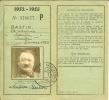 """Carnet D'identité / Erkenningskaart """" BASTIN Antoine De1952-1955 à WARDIN ( Bastogne ) """" - Other"""