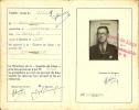 Carte De PRESSE De 1949 HOTUA Georges De PEPINSTER Pour LA GAZETTE DE LIEGE . - Kaarten