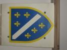 Bosnia War/flag 1993 Carton -3mm , 45x35 - Drapeaux