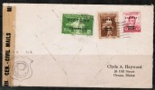 PHILIPPINES    1940's COMMERCIAL CENSOR COVER From A STAMP DEALER To Orno,Maine,USA - Philippines