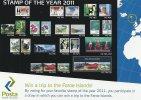 Faroe Islands. Stamp Of The Year Contest  2011  B-857 - Faroe Islands
