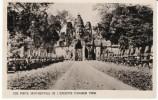 Angkor Thom Cambodia Cambodge, Ancient Asia Architecture, On 1930s/50s Vintage Postcard - Cambodia