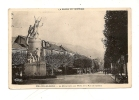 CPSM Aix Les Bains Monument Rue De Genève Savoie Pittoresque Circulé 1945 - Aix Les Bains